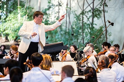 <strong>FAIRY-TALE ENDING:</strong>  As the Music Academy's professional partnership with the N.Y. Philharmonic moves into its second year, the full orchestra conducted by Alan Gilbert will arrive in Santa Barbara to play an unprecedented concert at the Bowl August 2.