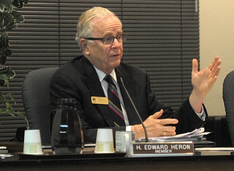 School District Boardmember Ed Heron