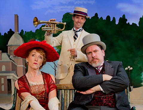 <b>SEVENTY-SIX TROMBONES:</b>  SBCC presents the 1957 Tony Award-winning comedic musical <i>The Music Man July 10-25.</i>