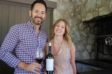<b>NEW KIDS ON VINE:</b>  Jason and Holly Djang will pour their Brave & Maiden wines this weekend to accompany a talk on native plants by landscape designer Susan Van Atta.