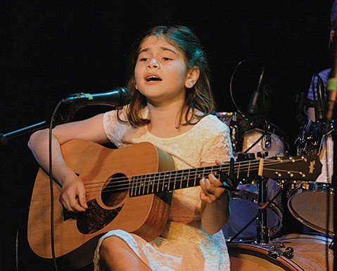 <b>GIRL POWER:</b>  Singer/guitarist Sofia Guerra wows with a big voice and a bright spirit.
