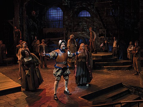 <b>BIG ADVENTURE:</b>  <i>Man of La Mancha</i> has been a popular musical since its premiere 50 years ago, when it won five Tony awards during its original run on Broadway. In PCPA's production, David Studwell stars as the a Don Quixote.