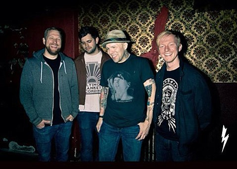 <b>PLAY IT AGAIN:</b>  The Ataris make a stop at Velvet Jones as part of their current tour, which sees the alt-rockers perform their 1999 breakout album, <i>Blue Skies, Broken Hearts … Next 12 Exits</i>, in its entirety.