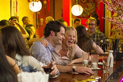 <b>ALL ABOARD:</b>  Starring Bill Hader and Amy Schumer, <i>Trainwrecks</i> is a funny, of-the-moment snapshot of the pitfalls and pratfall of modern non-monogamy.