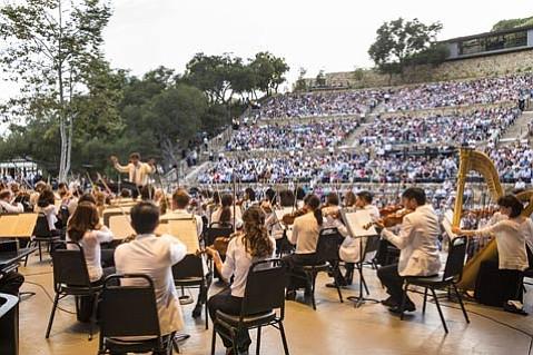 New York Philharmonic at the Santa Barbara Bowl.