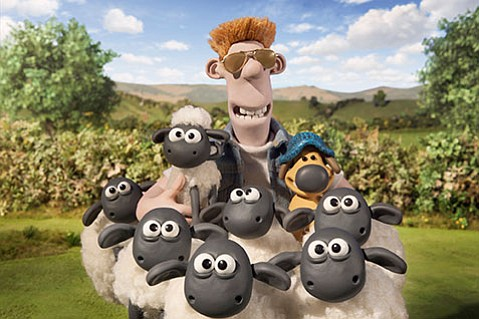 <b>COTTON EYE CANDY:</b>  Aardman Animations' <i>Shaun the Sheep</i> is near-perfect family entertainment.