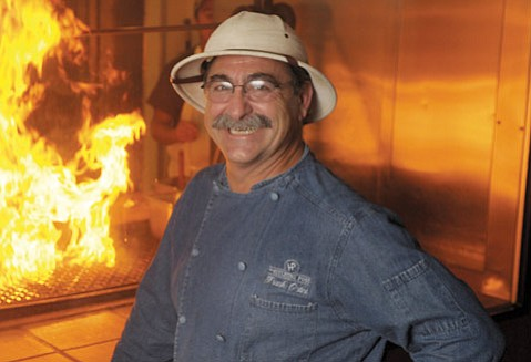 <b>PAIRING PINOT WITH BBQ: </b>As both a chef and winemaker, the Hitching Post II's Frank Ostini enters this Saturday's grilling-meets-wine demo during the Sta. Rita Hills 10th Annual Wine & Fire Weekend with a distinct advantage — even if he isn't cooking mammoth meat like cohort Peter Cargasacchi.