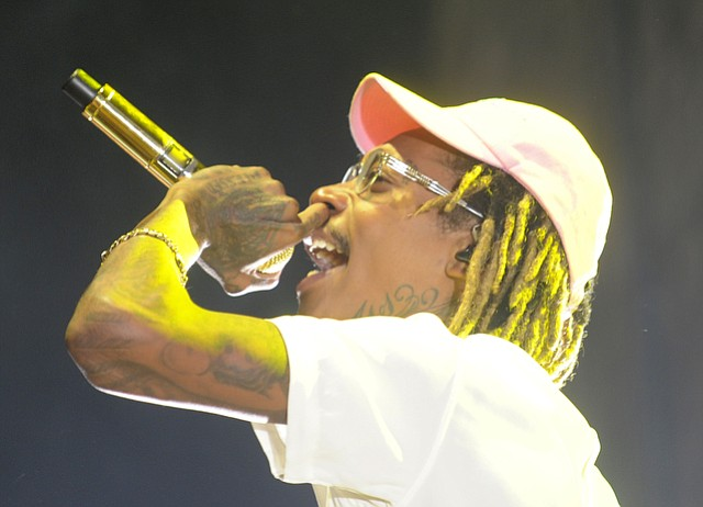 Wiz Khalifa at the Santa Barbara Bowl (Aug. 9, 2015)