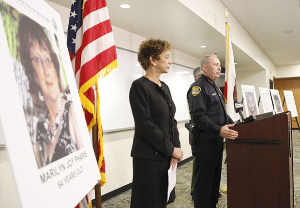 Santa Barbara County District Attorney Joyce Dudley and Santa Maria Police Chief Ralph Martin announced that murder charges have been filed against Victor Ramirez and Jose Villagomez.