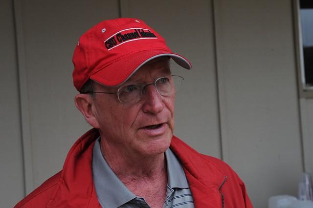 President Channel Islands University Richard Rush (Aug. 13, 2014)