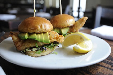 Rock Cod Sliders @ The Hungry Cat