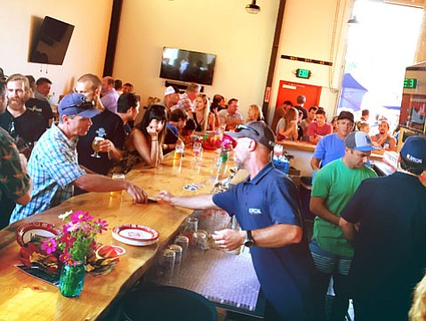 <b>SIPS AND SMILES:</b> M. Special Brewing Company in Goleta celebrates its grand opening this Friday, Saturday, and Sunday.