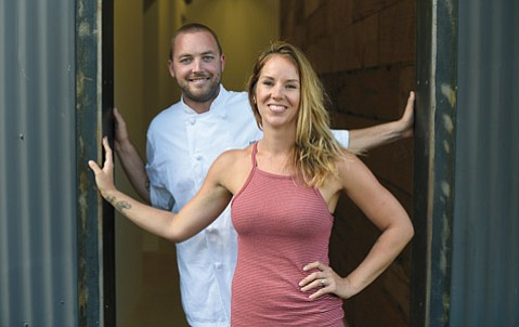 <b>DOUBLE TROUBLE:</b>  Justin and Emma West, who together run the popular Restaurant Julienne on East Canon Perdido Street, are upping the ante by showcasing West Coast barbecue at the soon-to-be-opened Wildwood Kitchen in The Mill on East Haley Street.