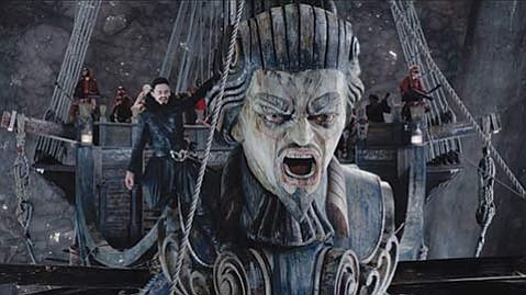 <b>FLASH IN THE PAN:</b>  Hugh Jackman plays Blackbeard in this arty but unoriginal Peter <i>Pan</i> prequel.