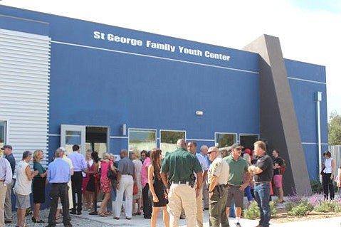The new St. George Family Youth Center celebrated its grand opening Tuesday at Estero Park in Isla Vista.