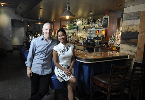 <strong>LESS AGAVE, MORE NECTAR:</strong>  Brad and Aparna Sherman decided to play up food more than drinks in evolving the longtime East Cota Street establishment.