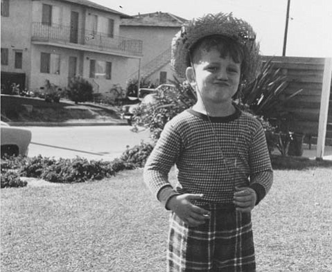 <strong>I.V. YOUTH: </strong> The author as a child in Isla Vista, where his interest in UCSB's growth began.