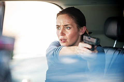 <b>CARTEL LAND:</b>  <i>Sicario</i> stars Emily Blunt as an FBI agent enlisted into a drug war on the border of the U.S. and Mexico.