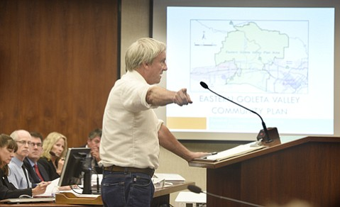 <strong>NOT ALL CREATED EQUAL:</strong> Environmental attorney Philip Seymour told the board not all types of chaparral qualify as sensitive.
