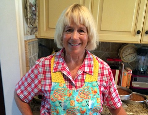 <strong>ON WINGS OF LOVE:</strong> Sue De Lapa, who was a constant friend and a highly skilled cook, died last weekend.