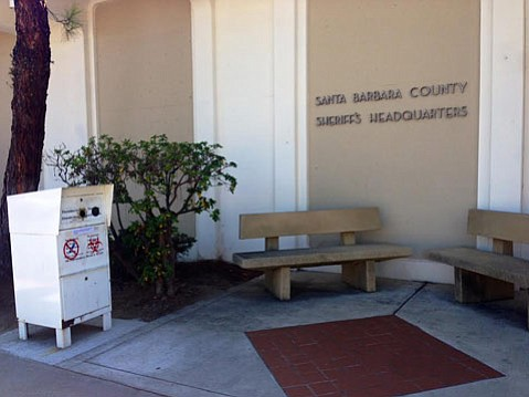 The prescription drop-off kiosk at the Santa Barbara County Sheriff's Headquarters will stay open while the others close for improvements.