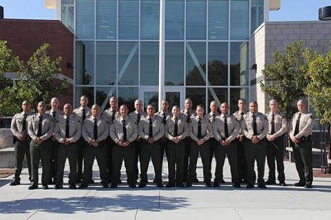 Twenty custody deputies, 16 from Santa Barbara County, graduated from the county's Custody Deputy Academy Friday at the Lompoc Veterans Memorial Building.