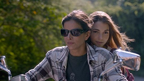 <b>FALL FILMS:</b>  This year's LGBTQ schedule highlights international selections such as the Venezuelan film Liz en <i>Septiembre</i>, starring Patricia Velasquez (left) and Eloísa Maturén.