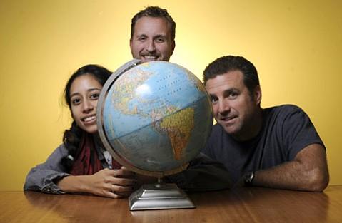 Léna Garcia, Tyler Hayden, and Keith Hamm