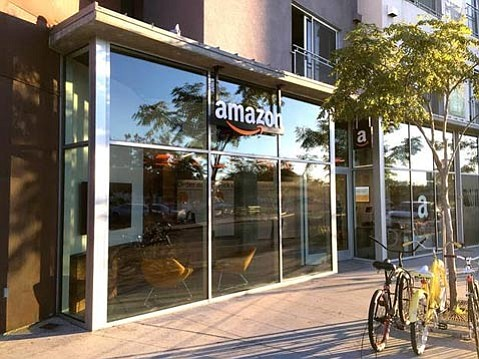 Amazon@IslaVista at The Loop is the company's first location to offer free same-day pickup to Amazon Student and Prime members.