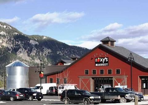Roxy's market in Big Sky, Montana