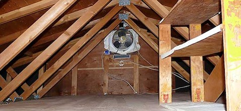 & Green Your Crib: Do Attic Fans Help or Hurt?