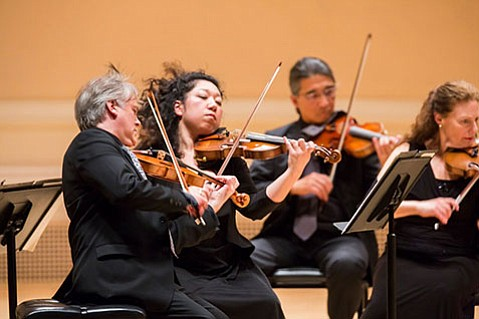 <b>SOVEREIGNS OF SONG:</b>  The Orpheus Chamber Orchestra lets the music rule as orchestra members forgo the traditional conductor in favor of democratic leadership rotation.
