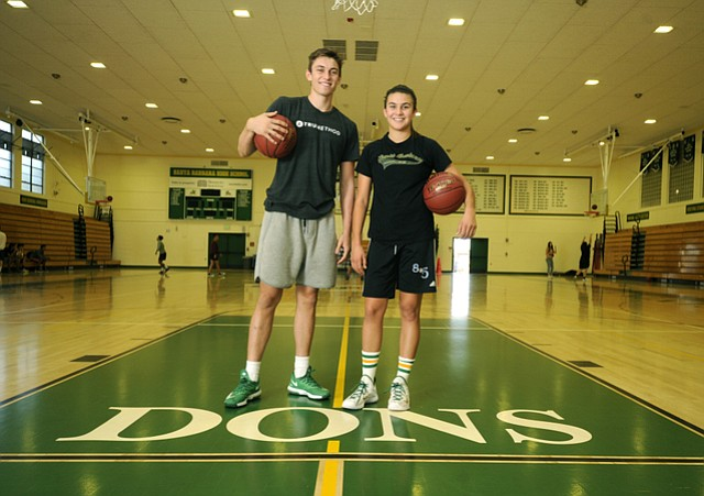SBHS basketball stars Bolden Bryce and Amber Melgoza (Nov. 20, 2015)..