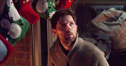 <b>NIGHTMARE BEFORE CHRISTMAS:</b>  Adam Scott stars in the <i>Gremlins</i>-esque Christmas horror-comedy <i>Krampus</i>.
