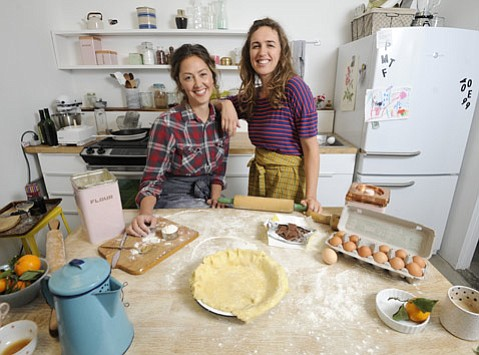 <strong>LUST FOR CRUST:</strong> Self-proclaimed pie enthusiasts Joya Rose Groves (left) and Leela Cyd throw a seasonal showdown this Sunday.