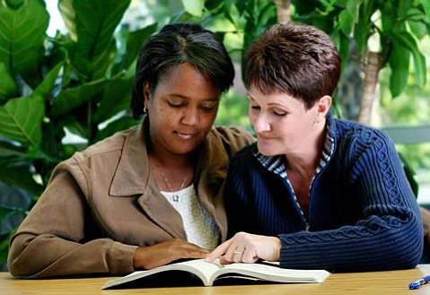 All the library branches are looking for new volunteers to help adults improve literacy.