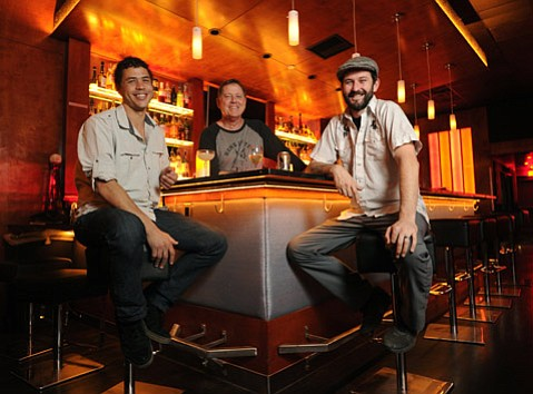 CAT POWER: Pictured from left, Shaun Belway, Bob Stout, and Patrick Reynolds are the cool cats behind the
