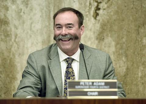 Fourth District Supervisor Peter Adam