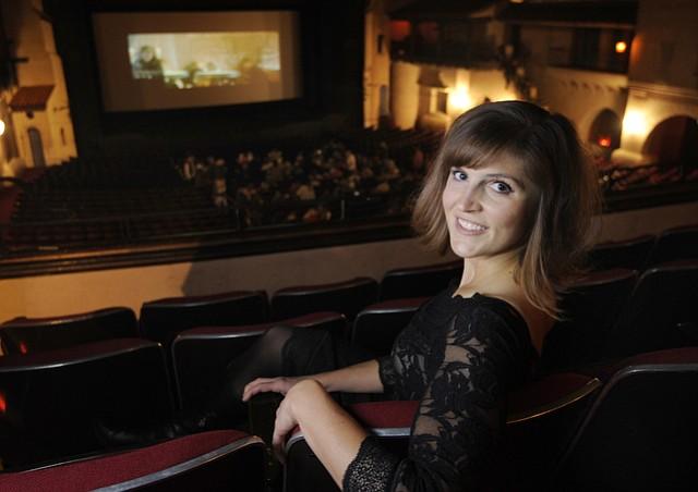 Emily Carmen in the Arlington Theatre (Dec. 18, 2015)
