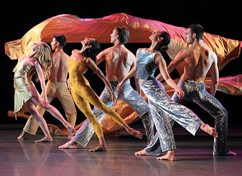 <b>STEPPING OUT:</b>  Artistic Director Christopher Pilafian has amped up his roster of company dancers (pictured) from four to six for this season's show.