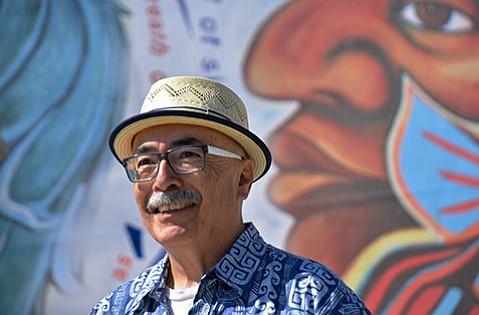 <b>WELL-VERSED:</b>  U.S. Poet Laureate Juan Felipe Herrera comes to UCSB's Campbell Hall on February 1.