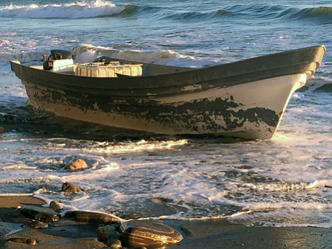Thirteen people were arrested Saturday after allegedly smuggling some 3,000 pounds of marijuana to Arroyo Quemada Beach by panga boat.