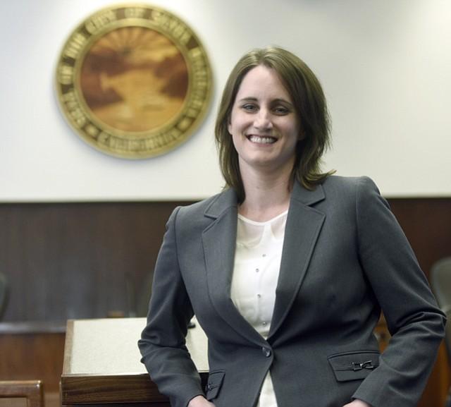 Santa Barbara City Council names Jessica Cadiente as the new Library Director, responsible for oversight of public libraries in Santa Barbara, Montecito, Goleta, Carpinteria, Buellton, and Solvang. (Feb. 2, 2016)