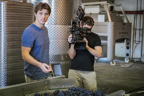 <strong>MORE FILM FUN:</strong>  <em>Somm: Into the Bottle</em> by director Jason Wise (pictured) kicks off a new wine film fest this weekend.