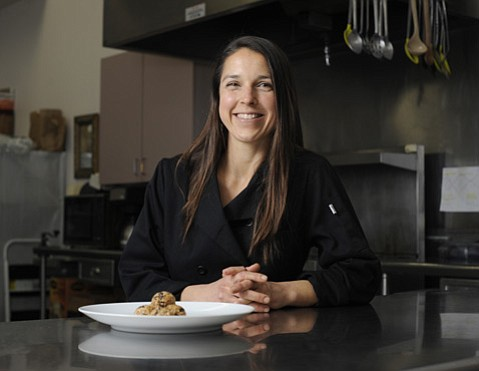 <strong>ILLNESS TO WELLNESS:</strong>  When Irina Skoeries got hit with a supposedly incurable disease, she changed her diet, got better, and started making the same foods as a caterer.
