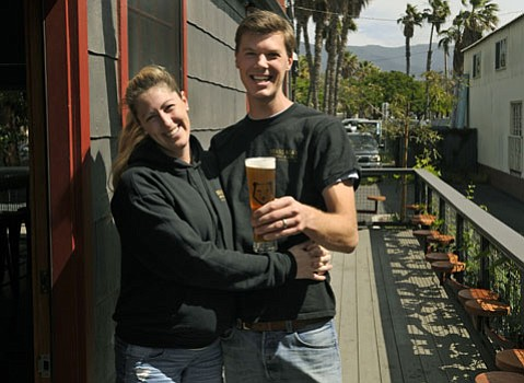Brass Beer's  Lindsay and Seth Anderson