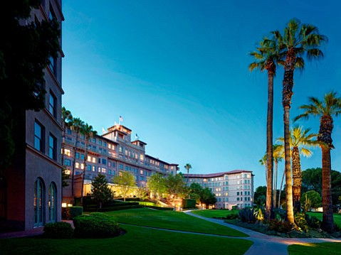 The Langham Huntington hotel in Pasadena straddles the border with San Marino and offers world-class comfort and a proximity to theaters and art musuems.