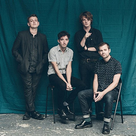 <b>TIME NOT WASTED:</b>  Hailing from Sheffield, England, The Crookes hop the Pond to bring their lively indie rock to town Friday, April 1, at SOhO.