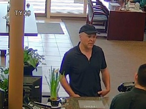 A male suspect is sought for allegedly trying to rob Union Bank's Montecito branch Thursday afternoon.
