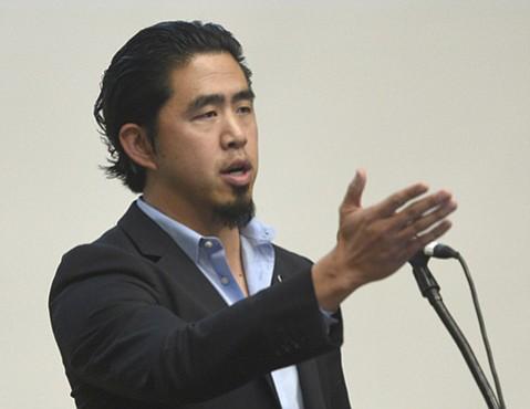 Jonathan Wang, president of the Adsum Education Foundation